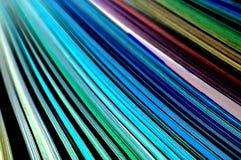Farbenzeilen Lizenzfreie Stockfotos