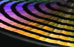 Farbenzeilen Stockbild