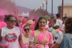 Farbevibeleute Stockfotos