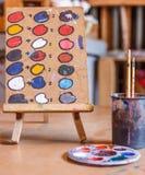 Farbfarbenwerkzeuge Lizenzfreie Stockfotos