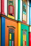 Farbfensterläden Lizenzfreie Stockbilder