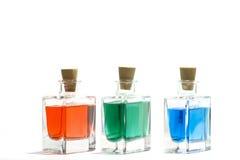 Farbflüssigkeiten Lizenzfreies Stockfoto