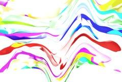 Farbflusstapete Stockfotografie