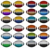 Farbfußball Lizenzfreies Stockbild