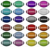 Farbfußball Lizenzfreie Stockfotografie