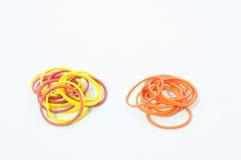 Farbgummibänder Stockfoto