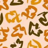 Farbic-Muster nahtlos Lizenzfreies Stockfoto