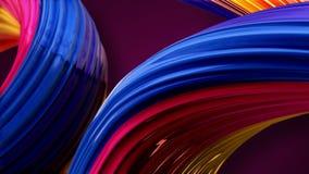 Farbige Abstraktion Stockfotos