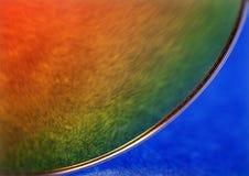 Farbige Abstraktion in der roten, gelben und blauen Farbe mit reflectio Stockbilder