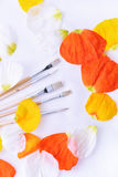 Farbige Abstraktion von Bürsten für das Zeichnen Lizenzfreies Stockbild
