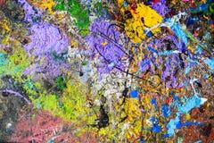Farbige Abstraktionen Stockbild