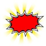 Farbige Abzeichen vektor abbildung