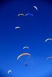Farbige Akzente im Himmel lizenzfreie stockbilder