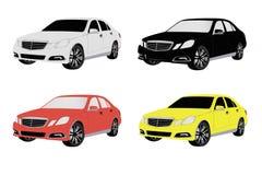 Farbige Autos Stockfotografie