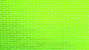 Farbige Backsteinmauer mit Schalenfarben-Hintergrundbeschaffenheit Lizenzfreie Stockfotos