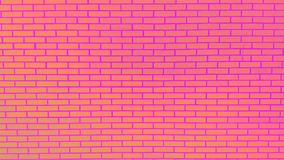 Farbige Backsteinmauer mit Schalenfarben-Hintergrundbeschaffenheit Lizenzfreies Stockfoto