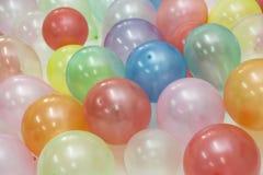 Farbige Ballone stockfotografie