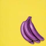 Farbige Bananen Stockbild