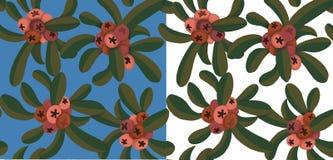 Farbige Beeren des Druckes Design Stockfoto