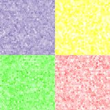 Farbige Beschaffenheit von Hexagonen Vektor Abbildung