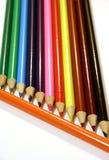 Farbige Bleistifte Lizenzfreies Stockbild