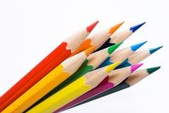 Farbige Bleistifte. Lizenzfreies Stockfoto