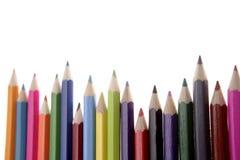 Farbige Bleistifte stockfotografie