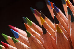 Farbige Bleistifte Lizenzfreies Stockfoto