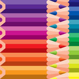 Farbige Bleistifte auf Hintergrund Lizenzfreies Stockfoto