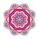 Farbige Blumenmandala Stockfotos