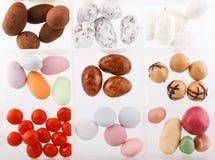 Farbige Bonbons Lizenzfreies Stockfoto