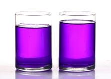 Farbige Chemikalie stockfotografie
