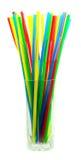 Farbige Cocktailgefäße Stockfoto
