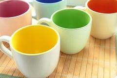 Farbige Cup Lizenzfreies Stockbild