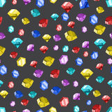 Farbige Diamantbeschaffenheit Auch im corel abgehobenen Betrag Lizenzfreie Stockfotos