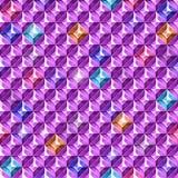Farbige Diamantbeschaffenheit Auch im corel abgehobenen Betrag Stockfotos