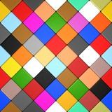 Farbige Diamantfliesen Lizenzfreies Stockfoto