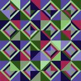 Farbige Dreiecke Nahtloses Muster Stockbilder