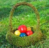 Farbige Eier Lizenzfreies Stockbild
