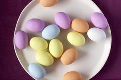 Farbige Eier Stockfotografie