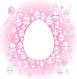 Farbige Eier Stockbild