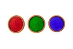 Farbige Färbungen stockfoto