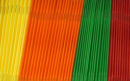 Farbige Faltblätter Lizenzfreies Stockfoto