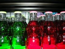 Farbige Flaschen Stockbilder
