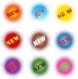 Farbige Form NEU lizenzfreies stockbild