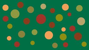 Farbige Formen und Hintergrund stock abbildung