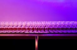 Farbige Gläser Lizenzfreies Stockfoto