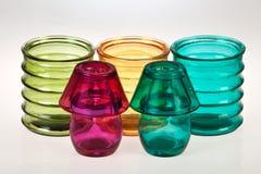 Farbige Gläser Stockfotos