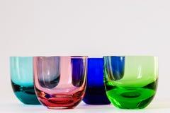 Farbige Gläser Stockfotografie