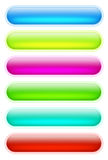 Farbige Internet-Tasten Lizenzfreies Stockbild